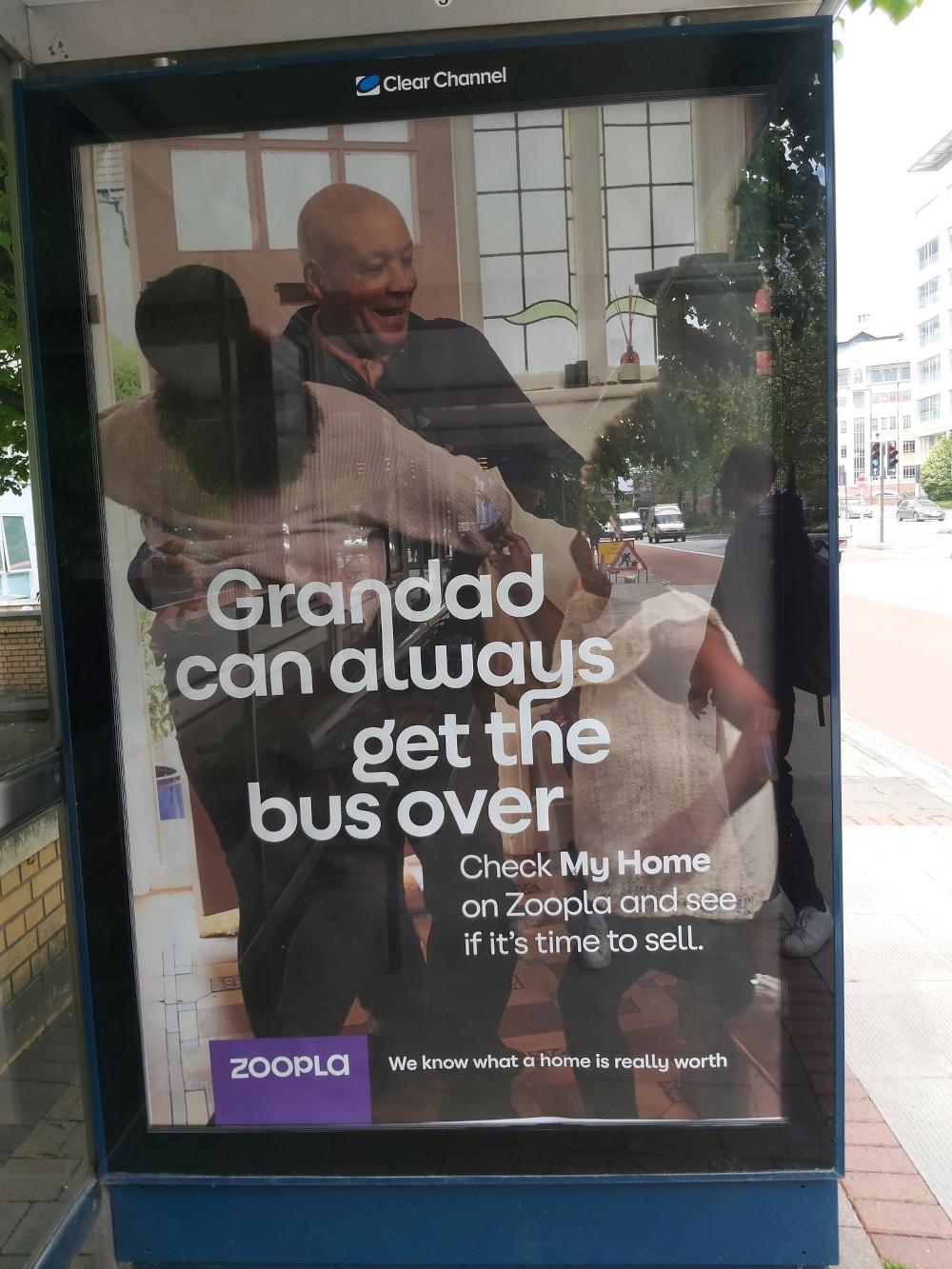 Zoopla bus advert | Consumer News UK