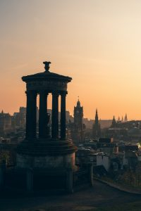 View from calton hill where you can see St james quarter   Scottish News