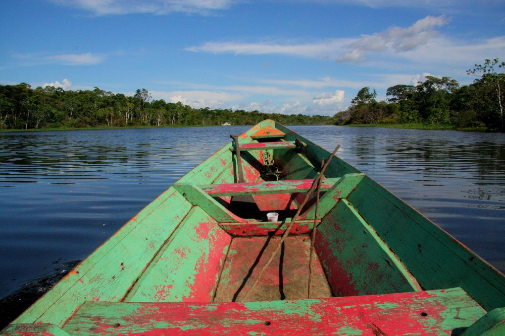 Amazon river with boat| Uk and World