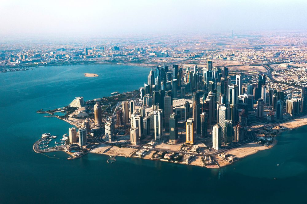 qatar skyline   Uk and World