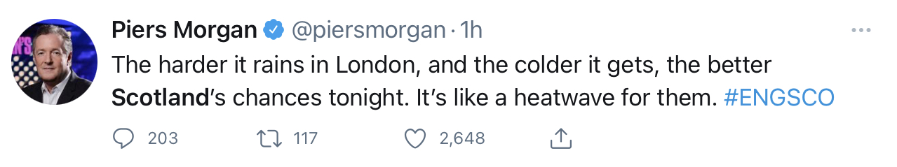 Piers Morgan - Entertainment News Scotland