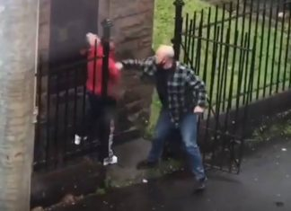supposed taxi driver walks away after punching man | Scottish News
