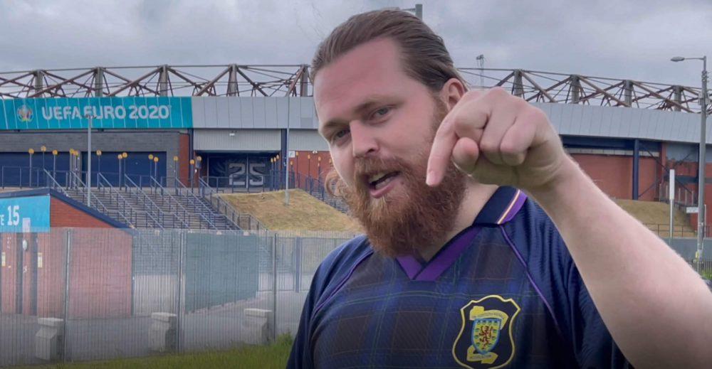 Die hard Scotland fan Andrew Douglas   Scottish News