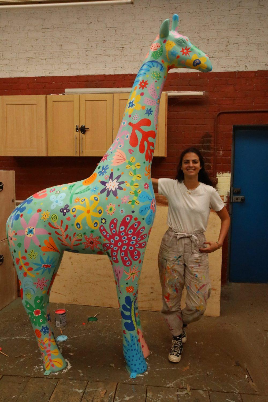 Artist Carolina Haraki| Scottish News