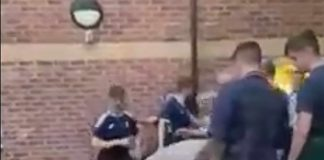 Scotland and England supporters fighting | Football News UK