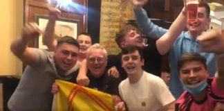 The young Tartan Army fans in the pub - Scottish Football News
