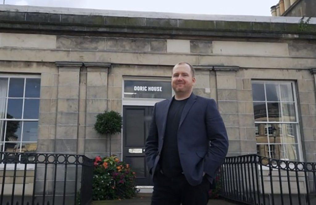 Doric House in Edinburgh's new town - Scottish Property News