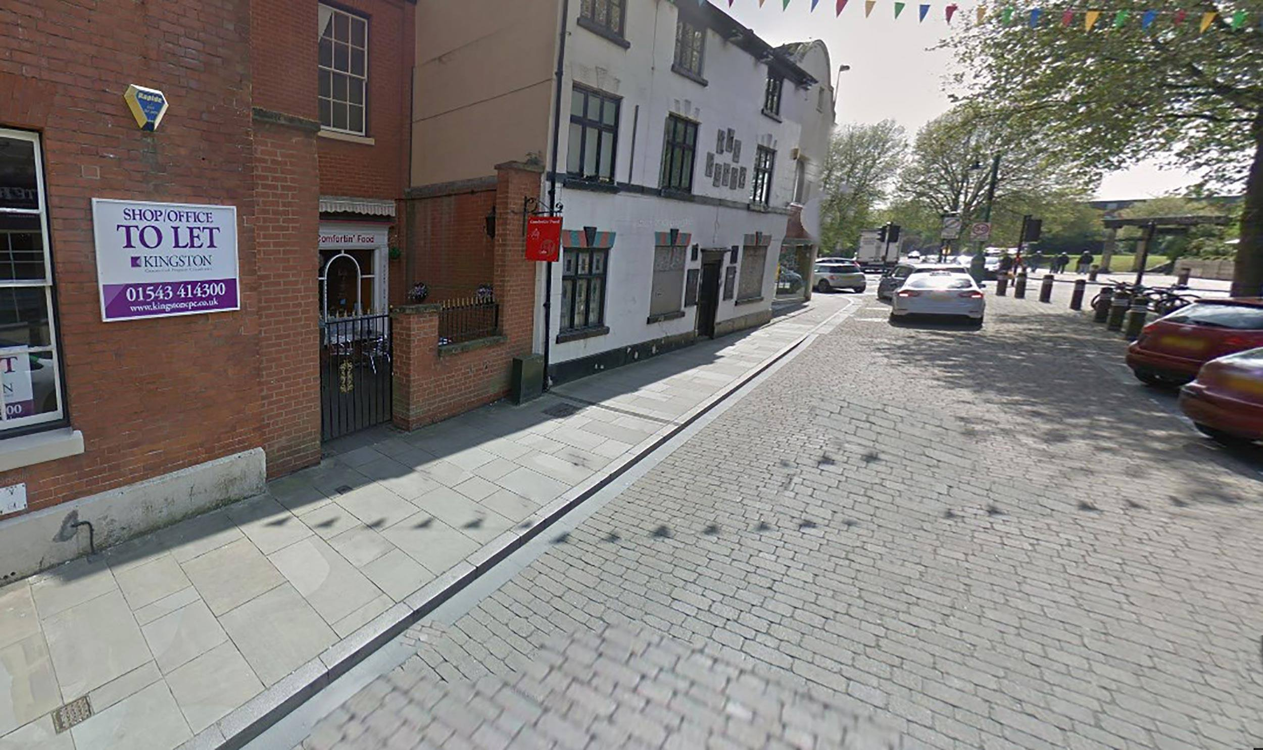 An image of the city centre street wherethe incident took place - UK News