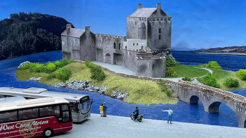The model of the iconic Scots castle - Scottish News