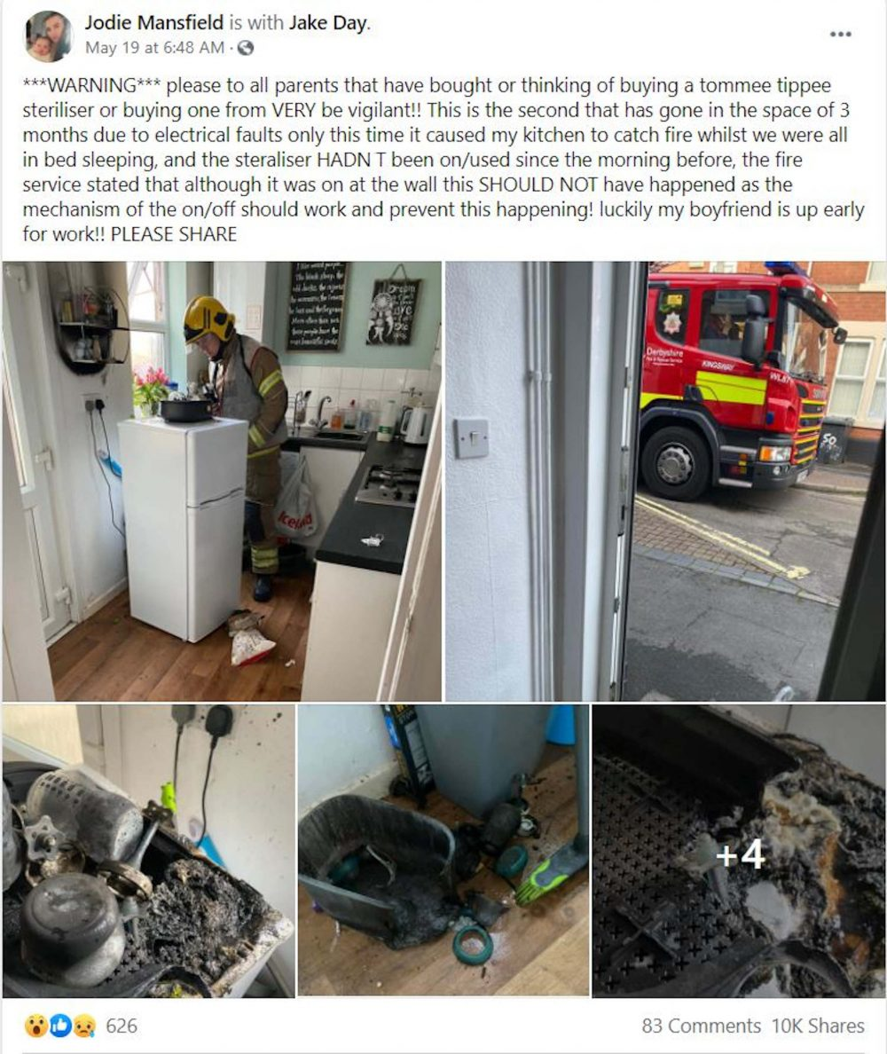 Jodie Mansfield post - Emergency Service News UK
