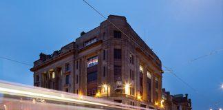 West end of Princes Street, Edinburgh at dusk|Business News Scotland