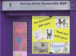 Scottish Family Party SNP office edit - Politics News Scotland