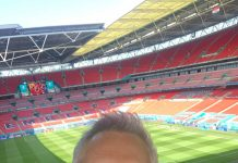 The face of Walkers at Wembley -Sports News UK