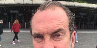 Gavin Mitchell Hydro selfie - TV News Scotland