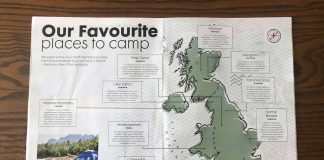 The UK map from the July catalogue - Scottish News