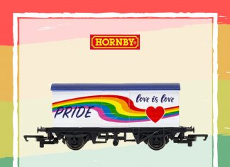 The Hornby LGBT wagon promotional image - Consumer News UK
