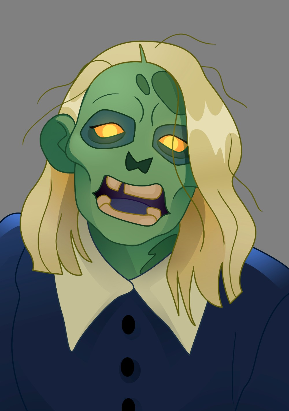 Holly Willoughby drawn as a zombie - Scottish News