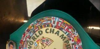 Josh Taylor's home belt display | Scottish News