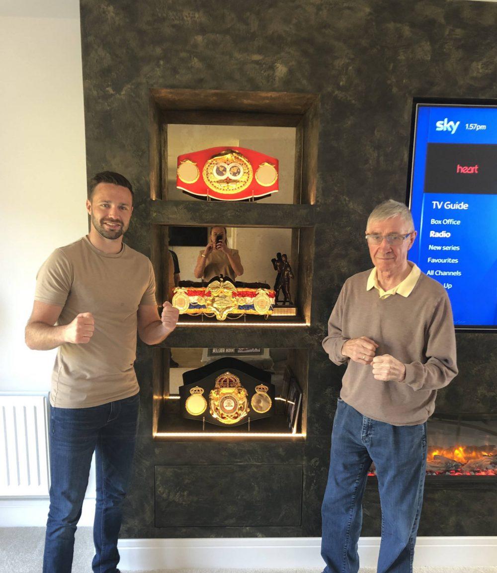 Josh Taylor and Ken Buchanan | Scottish Sports News