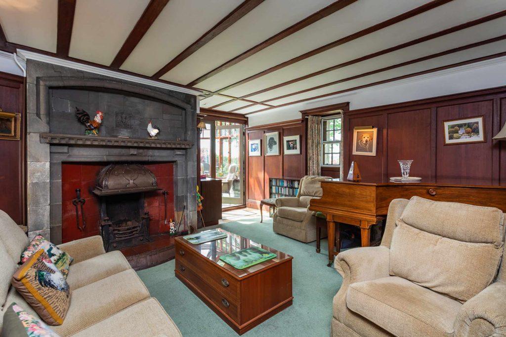 The iron fireplace - Scottish Property News