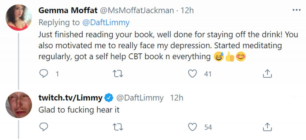 Response to Limmy's tweet | Scottish News