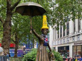 Mary Poppins with Scottish Bottle | Scottish News