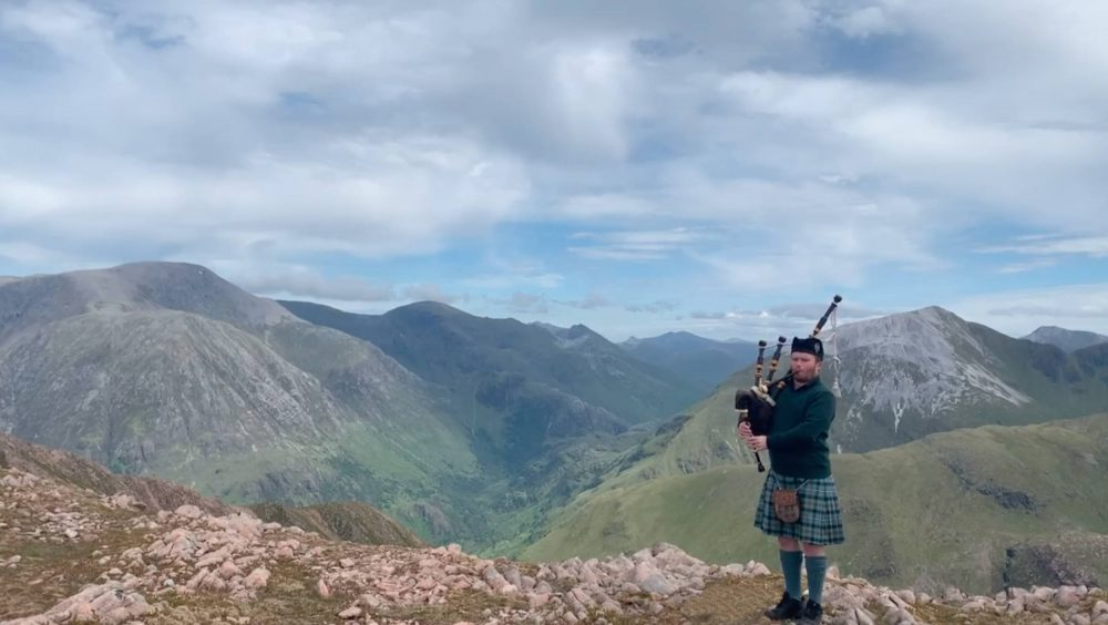 Grant MacLeod with Ben Nevis in the background | Scottish News