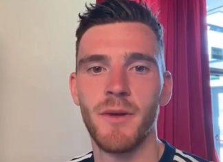 Scotland football captain Andy Robertson | Scottish Football News