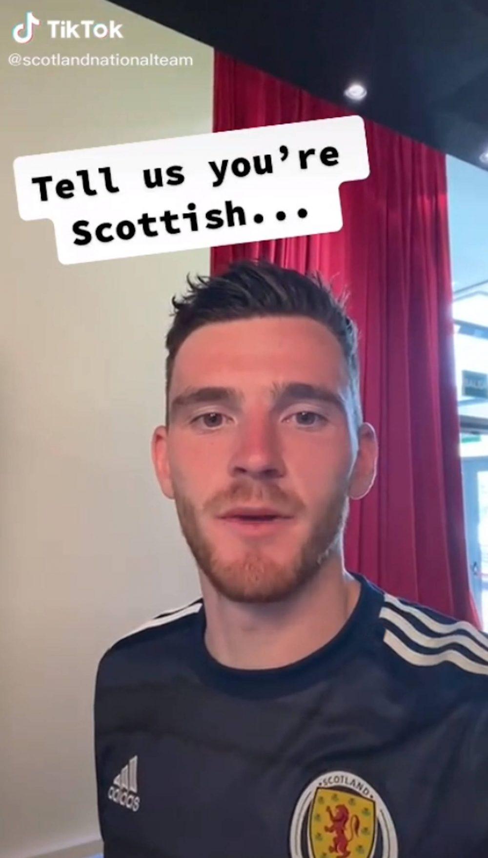 Scotland football captain Andy Robertson   Scottish Football News