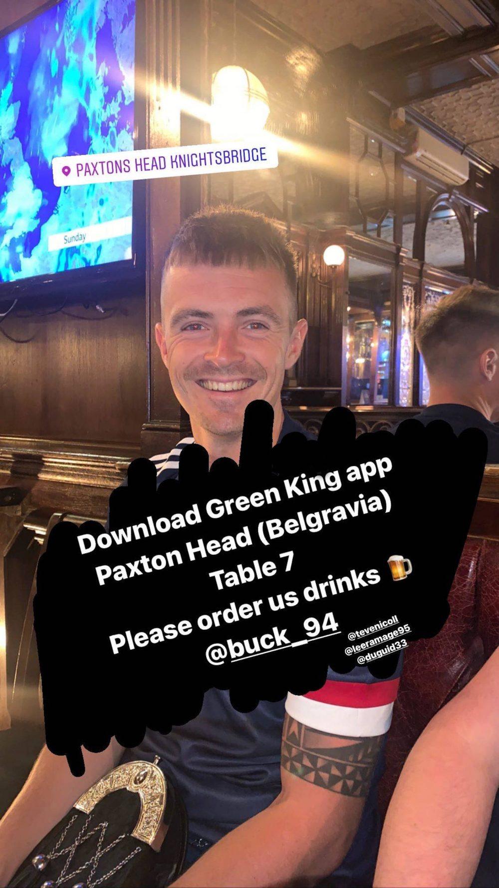 Ryan's social media plea for free drinks | Scottish News