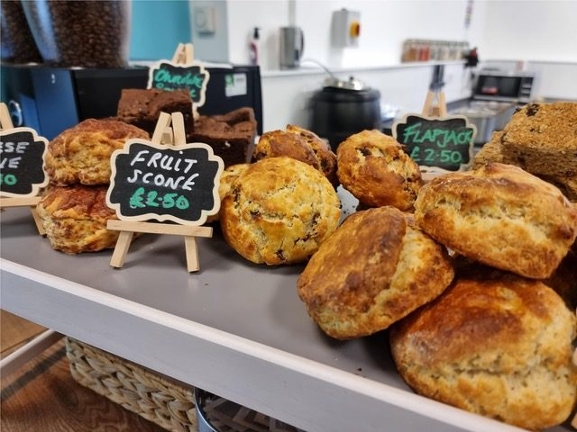 plate of scones at scran cafe| Scottish News