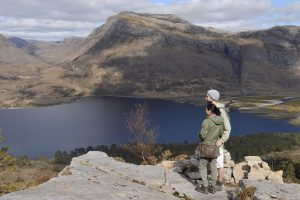 Visitors enjoying a day out at the mountain trail, Beinn Eighe National Nature Reserve. - Scottish News