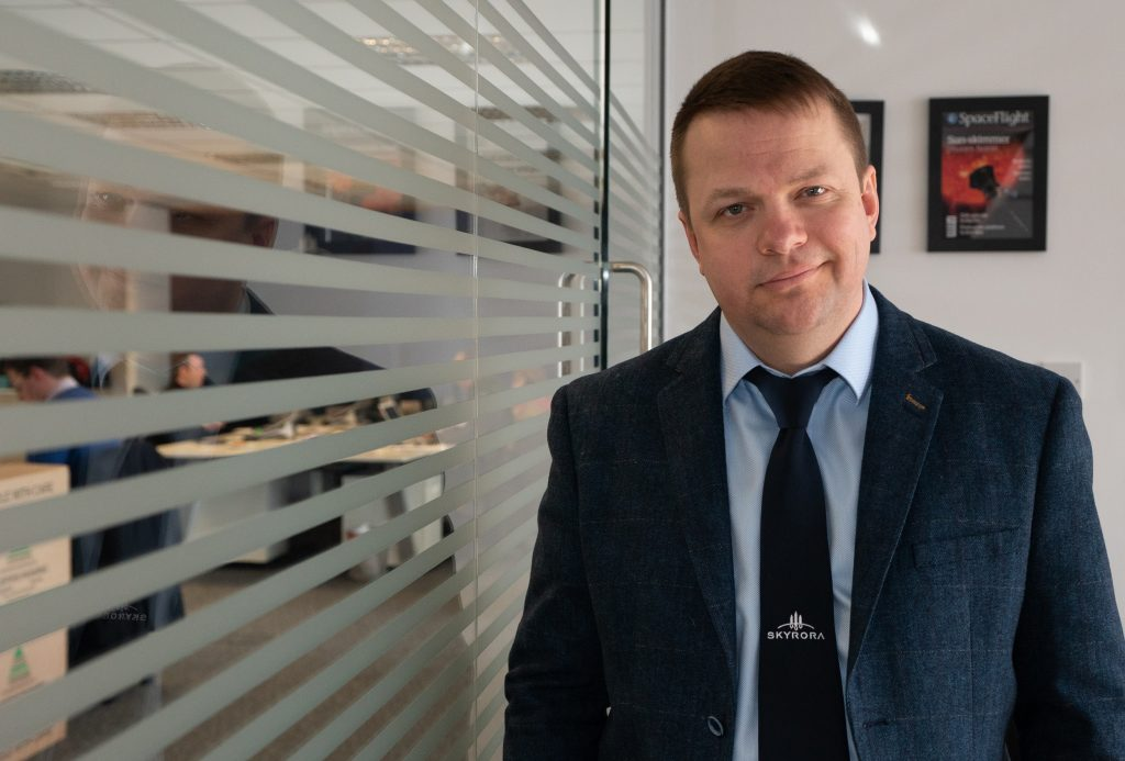 - Volodymyr Levykin CEO of Skyrora 1024x693 - 'UK has to stay ahead of the curve' in global space race
