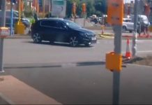 The driver midway through his three point turn | Transport New UK