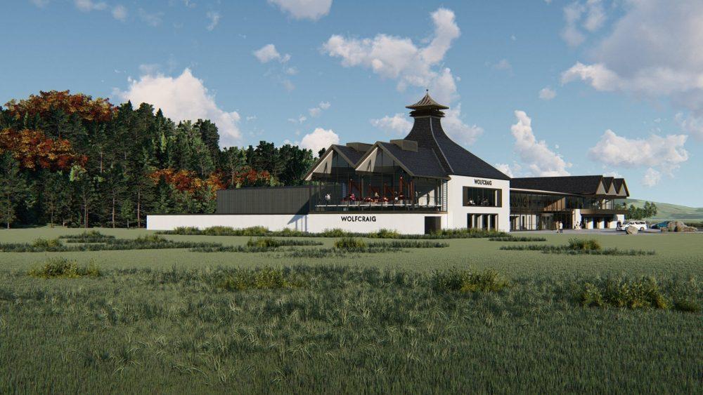 Wolfcraig Distillery artist's impression - Food and Drink News Scotland