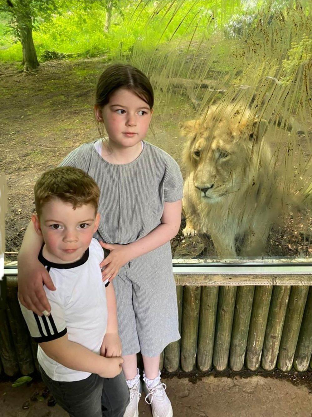 Little Ryan got a shock on his first zoo visit - Scottish Animal News