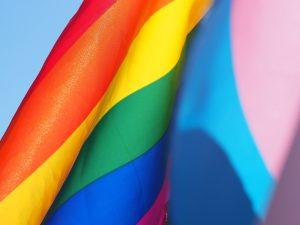 Rainbow flag for pride month - Scottish News