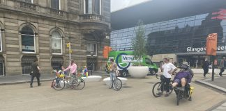 Photo call held in Glasgow to highlight the benefits of car-free zones - Scottish News