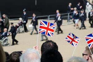 A crowd of people celebrate their veterans - Research News Scotland