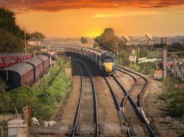 train with sunset  Transport News Scotland