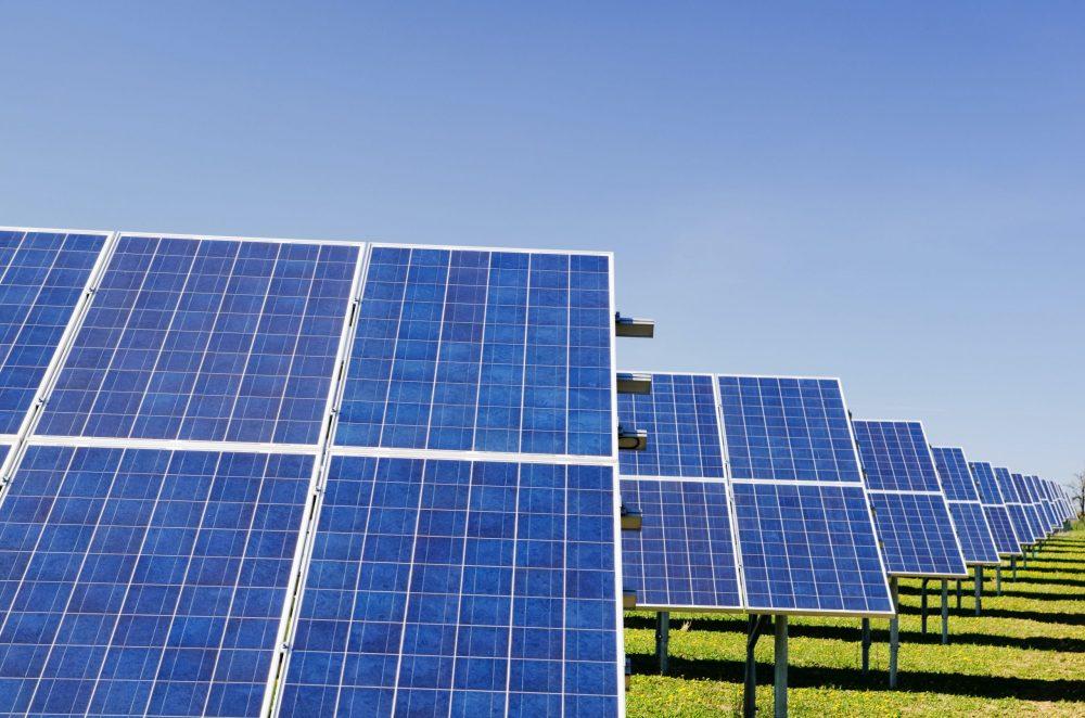 blue solar panels   Research News Uk