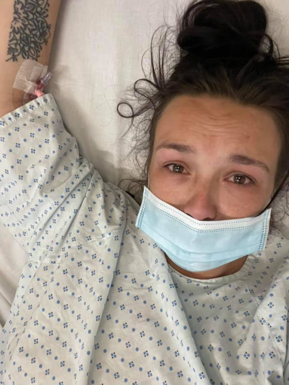 Jade Michealla in the hospital | Food and Drink News UK