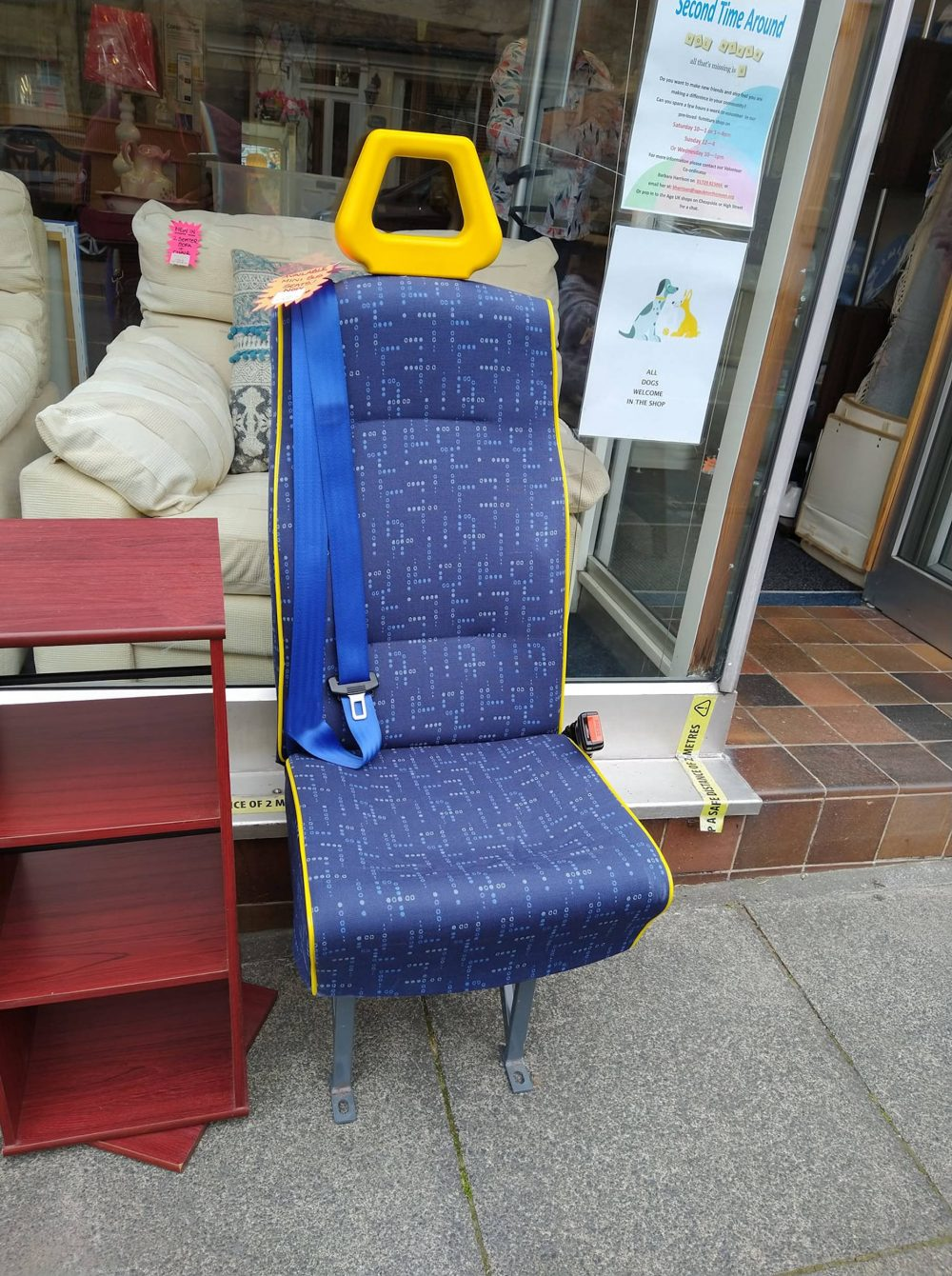 The single bus seat for sale   Consumer News UK