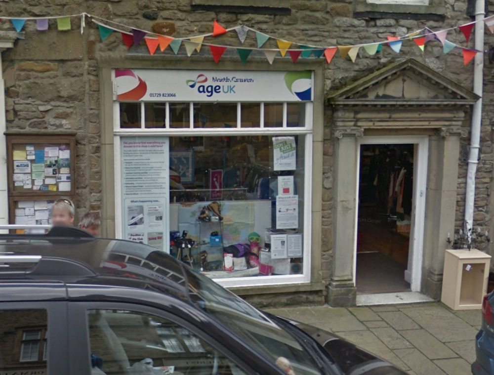 The Age UK charity shop in Settle   Consumer News UK