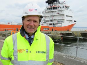 Charles Hammond, OBE, Chief Executive of Forth Ports Limited - Scottish News
