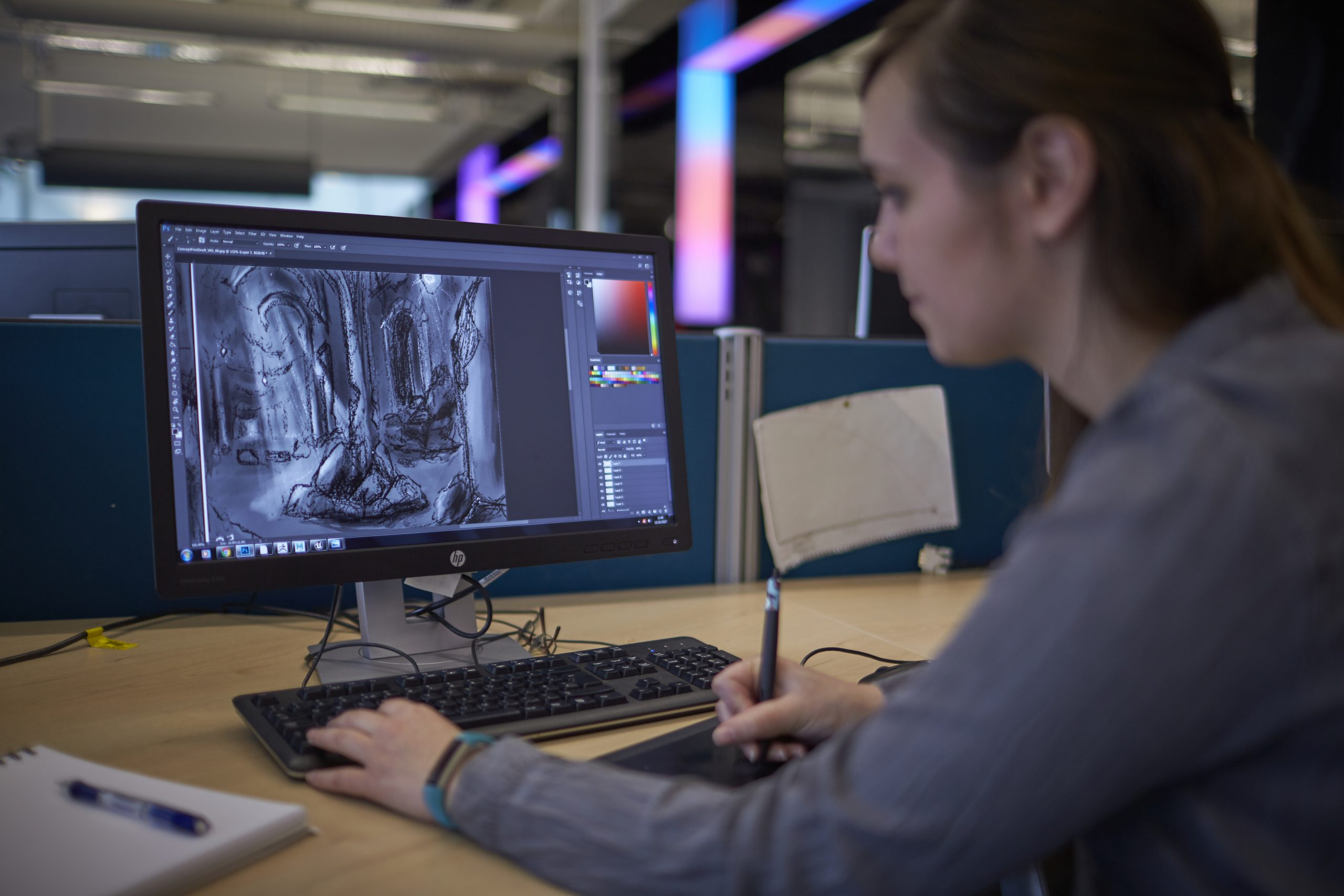 Computer arts student - Education News Scotland