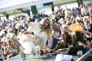 Edith Bowman at Stobo Castle Ladies Day at Musselburgh Racecourse - Scottish News