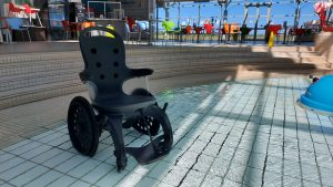 The Easyroller Wheelchair provides direct access for users  - Scottish News