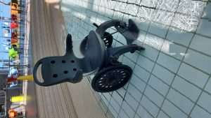 The design of the new wheelchair will offer direct access to the pool - Scottish News