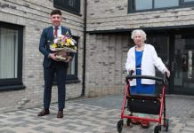 first resident move in - scottish news